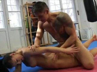 Real father cums inside daughter